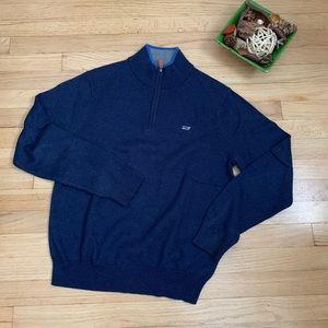 Vineyard Vines Pullover Sweater Navy Boys XS